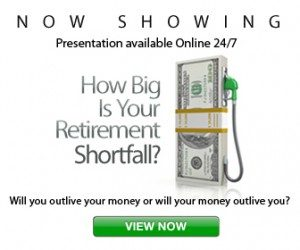 How big is your retirement shortfall?